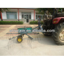 Rotary grass rake with tractor PTO