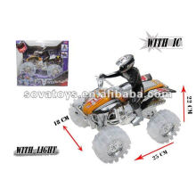 Fricção ação brinquedo plástico moto