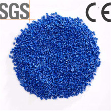 SGS Blue Color PP Resin Injection Plastic Recycled PP