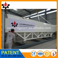 Silo de cemento horizontal, silo de cemento móvil, silo de cemento portátil