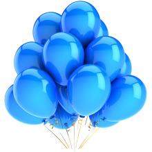 Balões de látex natural 100% personalizados