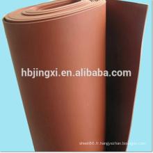 Feuille molle de PVC pour le plancher résistant à l'érosion chimique