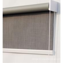 cortinas opacas de tela de poliéster de pvc