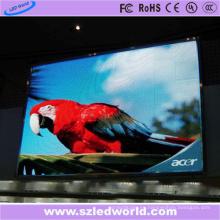 Definición de pantalla LED de color contrasthigh alto P8 en el centro comercial