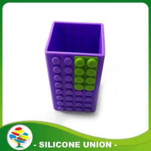 Customized Souvenir Silicone Pen Holder