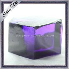 Violeta Azul CZ Rough / Raw Material, Cúbico Zirconia Áspero