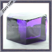 Violet Blue CZ Rough / Raw Material, Zircon cubique rugueux