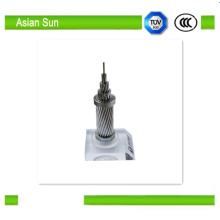 Conductor desnudo transmisión línea AAC ACSR AAAC desnudo Conductor de aluminio