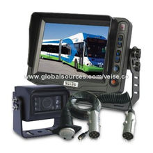 5-inch Trailer Reverse Camera System with Digital Monitor, Backup Camera and Extension/Trailer Cable