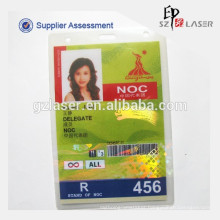 A5 Size Hot Lamination Pouch for ID Cards, Guangzhou Asian Games