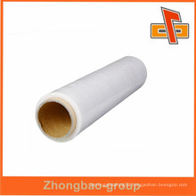 Customized high quality soft plastic lldpe shrink film pe shrink wrap film china supplier