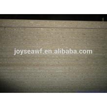 12x1220x2440MM papel de melamina cara / atrás de aglomerado / tablero de partículas de Joy Sea
