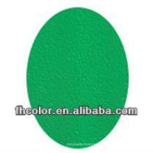 Pintura de polvo verde de arrugas
