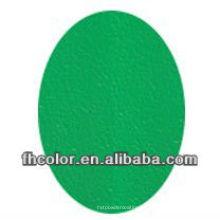 Pó verde do enrugamento