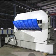 Máquina prensadora de láminas de techo de acero