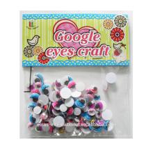 движущиеся волнистые гугли глаза с ресниц