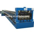 galvanized steel floor decking shaping machine price/concrete floor deck machine for good price