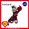 Rock Climbing Anti-panic Aluminum Self-Braking Safety Mountaineering 9mm 12mm Rope Stop Descender