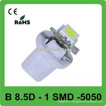 B8.5D led lampe de tableau 1 SMD 5050