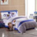 Conjunto de cama feita de tecido de microfibra 100% poliéster à venda