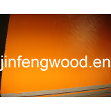 ISO9001: 2008 Furniture Melamine MDF Pure Orange Color