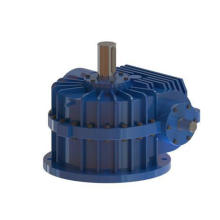 Construction Machinery Double Enveloping Worm Reduction Gearbox