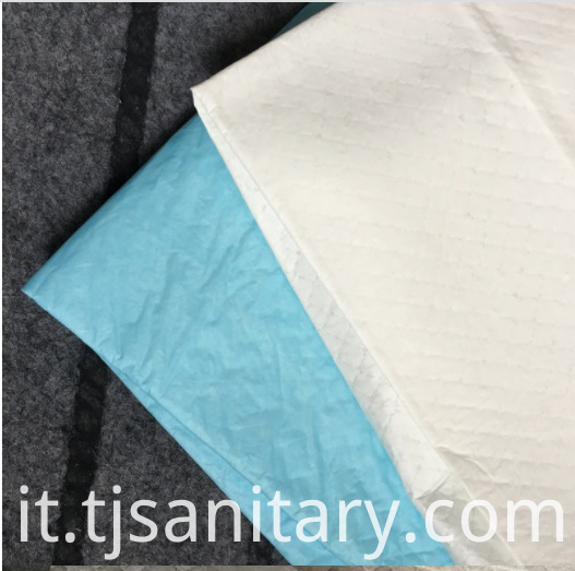 Nonwoven urine absorbent pet pads
