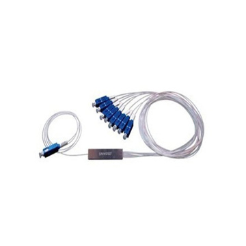 1x8 Mini Tube Fibre Cable Plc Splitter