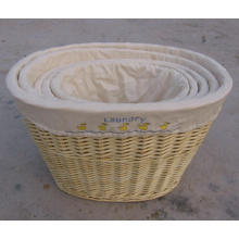 (BC-ST1031) High Quality Handmade Willow Laundry Basket