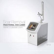 Aparelhos médicos estéticos co2 portátil máquina de remoção de cicatriz a laser