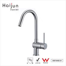 Haijun China Import Direct Durable Single Hole Long Neck Kitchen Faucet