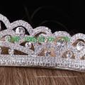 Невесты корону белый горный хрусталь свадьба принцесса тиара