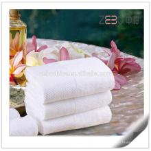 Tissu en tissu plissé en coton Fabricant en gros de serviettes à main pour l'hôtel