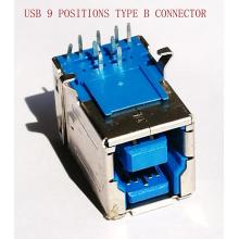 9 Pin USB3.0 Buchse für die Druckerausrüstung