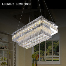 Luxury modern led crystal chandelier