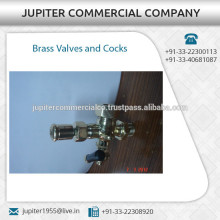 Finest Quality Long Lasting Brass Valves and Cocks from Certified Company