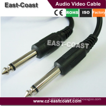 "Installer Parts 6Ft 6.35mm 1/4"" Mono Male to Male Cable for Guitar"
