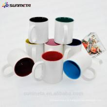 11oz Sublimação caneca de cerâmica para promoção grossista made in china