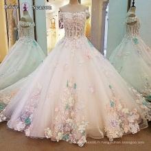 LS00105 robes de plage robes de mariée en gros pour des robes de mariée simples et élégantes