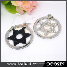 Israel Judaism Accessories Star of David Metal Pendant