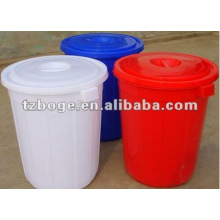 injection plastic bucket with lids mould