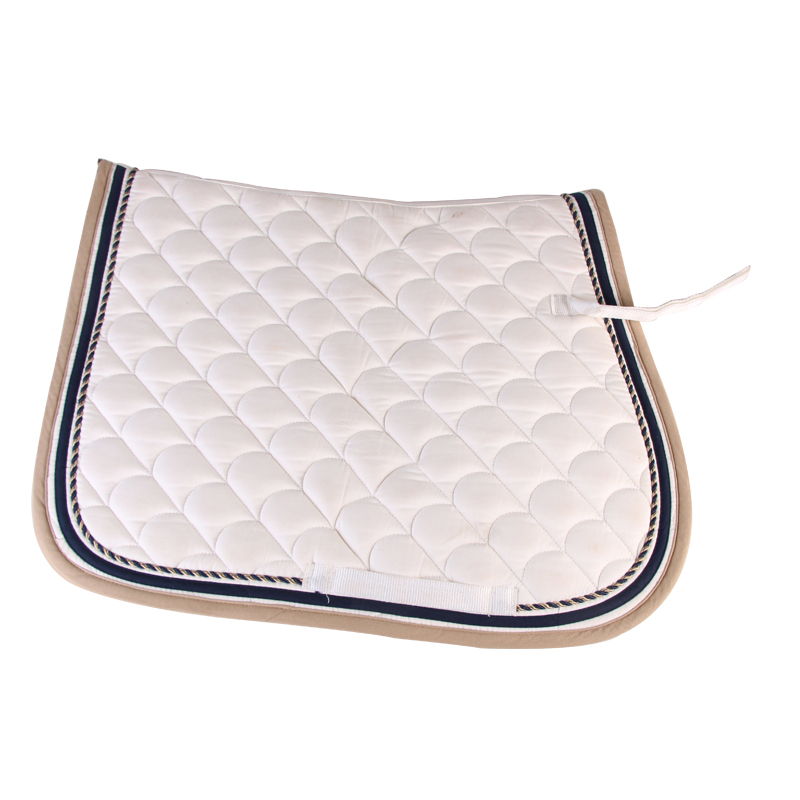 horse jumping saddle pad