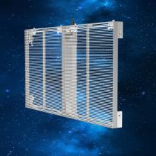 Affichage LED en verre transparent