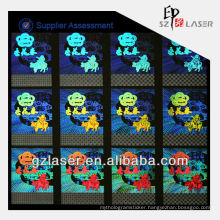 Hologram nickel mater sheet with hologram technology