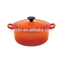 Hot casserole en fonte émaillée