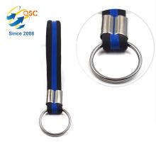 cheap custom wrist silicone strap keychain