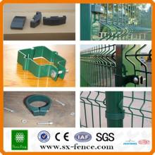 Clous de clôture en métal et en plastique soudés / Clips de clôture soudés en fil métallique / Clous de clôture en fil soudés