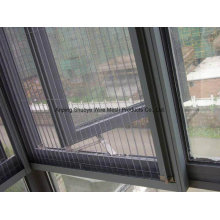 Tela mosquiteira de fibra de vidro para janela