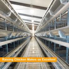 Tianrui-Geflügel-Bauernhof-Ausrüstungs-H-Art Chiken-Käfig