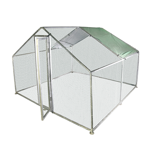 Galvanized Outdoor Large Chicken Kennel